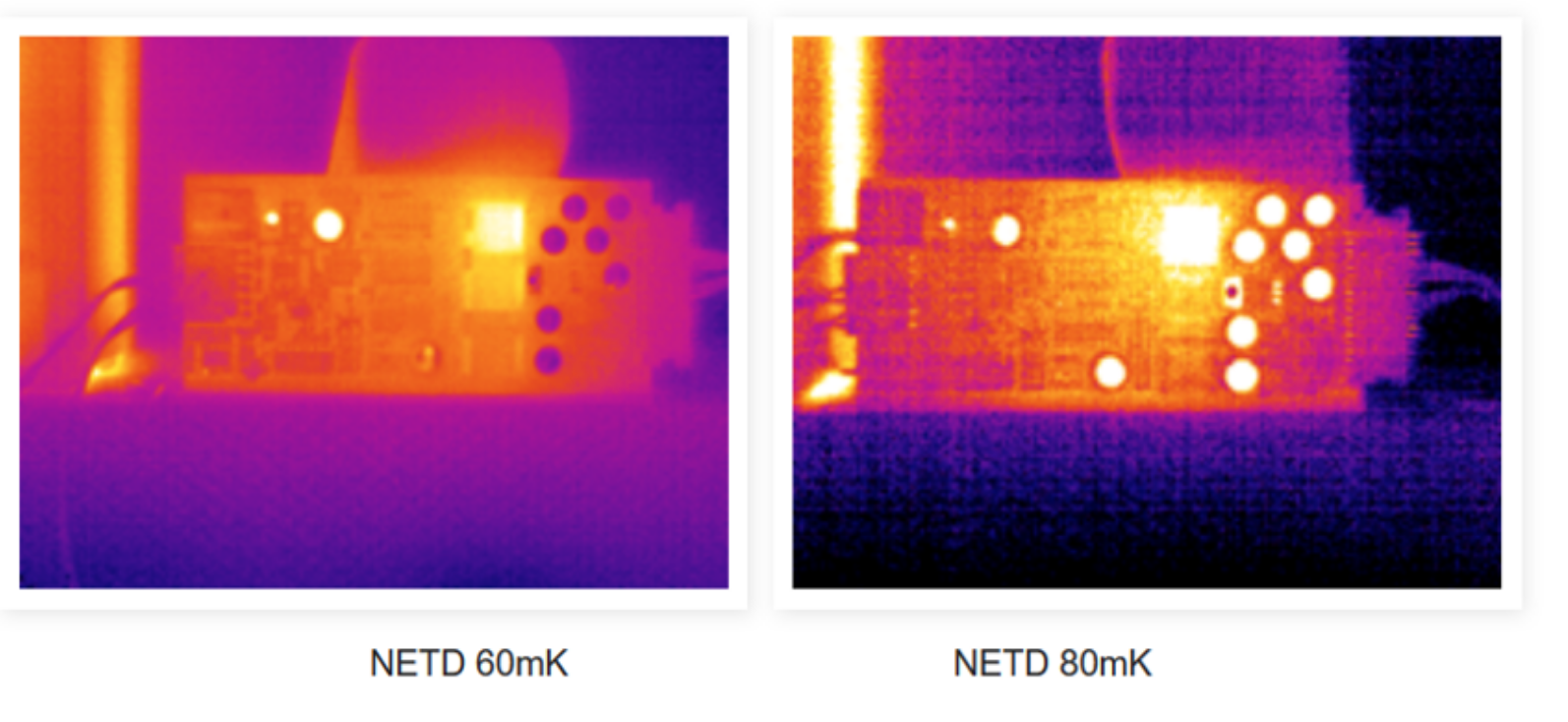 NETD of Thermal Imaging